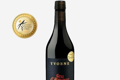 """Yvorne Pinot Noir """"Feu d'amour"""" Sélection Terravin Chablais AOC"""
