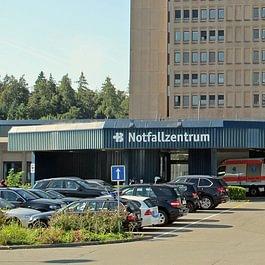 Rund um die Uhr offen: Das Notfallzentrum des KSB.