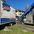 Le Service déménagement et monte meuble de La Carte Blanche ( location possible du monte meubles )