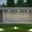 Baschnagel Elektro AG in Rheinau, Aussenbeleuchtung