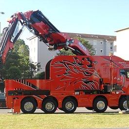 Scania 1855 TM - Carlos Transports Elévations SA