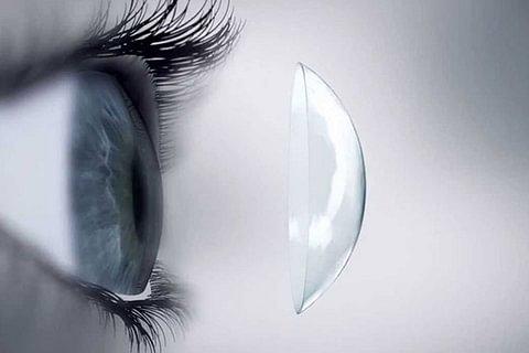 Kontaktlinsenapassung