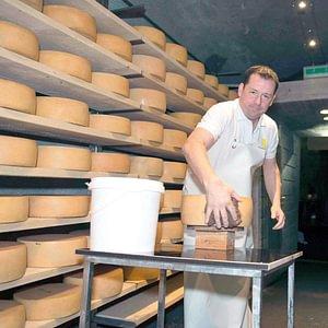 Le Vallgrotte du fromager Berger est délicieux