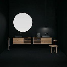 Wood In Bad - Boffi Studio Aarau
