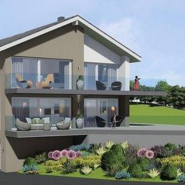 A VENDRE ST-LÉGIER-LA CHIÉSAZ - 136.5 M2 Spacieux appartement sur plan avec  vue sur le lac et finitions à choix