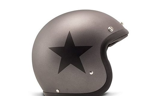 DMD Helmet star grey