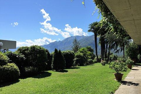 2-Zimmerwohnung mit grosser Terrasse und Seesicht in Locarno-Monti