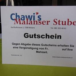 Chawi's Malanser Stube