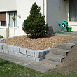 Quadersteinmauern