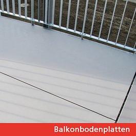 Balkonbodenplatten
