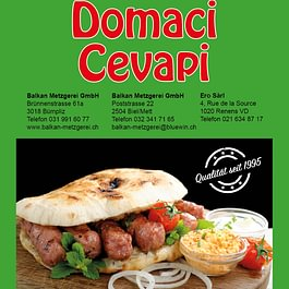 Domaci Cevapi   (Zwiebeln)