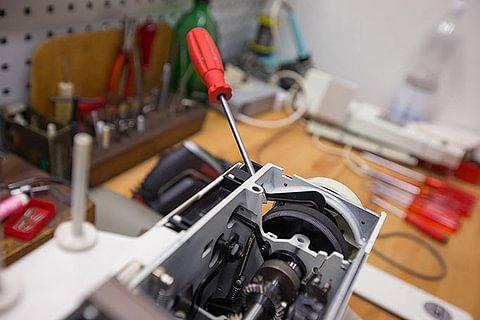Werkstatt: Reparaturen von Nähmaschinen aller Marken