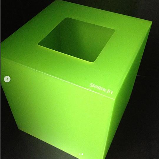 Cestino in plexiglass (PMMA) Design