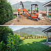 Giardiniere diplomato Lugano costruzione giardini e posa tappeto a rotoli