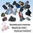 Roulettes pour machines