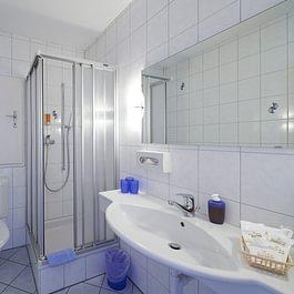 Gepflegte Badezimmer