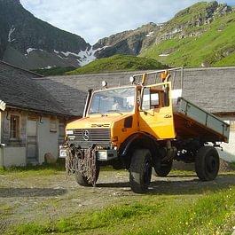 Transport : Unimog - avant
