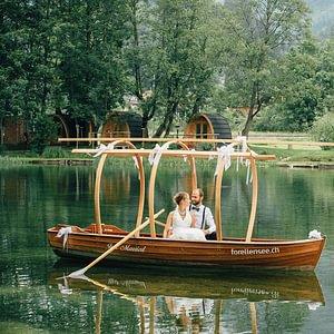 Hochzeit See-Restaurant Forellensee Zweisimmen