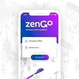 zenGo - Application Mobile