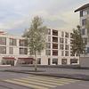 Immeuble d'habitation, commerces au rez-de-chaussée - ZH
