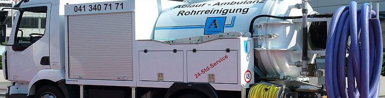 Ablauf Ambulanz Rohrreinigung
