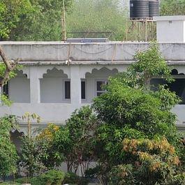 Unser Guesthouse im Sapta Yoga Ashram in Indien
