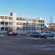 Büro- und Gewerbehaus mit Kunststoff-Fenster