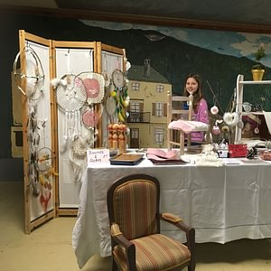 Stand marché artisanal Corbeyrier