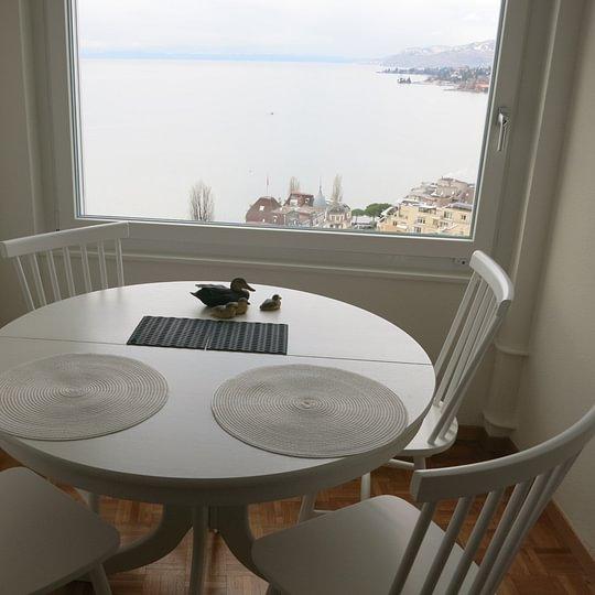 3 rooms furnished apartment for rent in Tour d'lvoire Avenue du Casino 33, 1820 Montreux