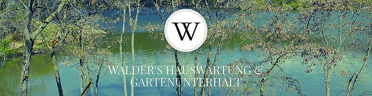 Walder's Hauswartung & Gartenunterhalt