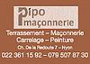 Pipo Maçonnerie