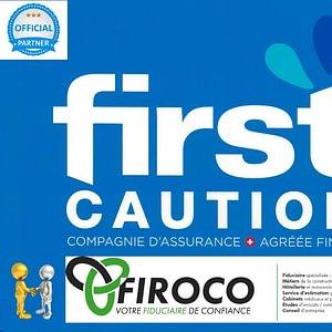 Firoco SARL est partenaire officiel de FIRSTCAUTION