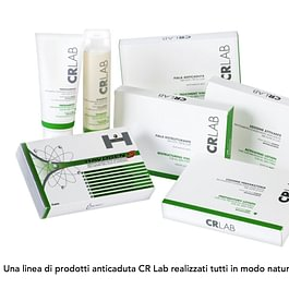 Una linea di prodotti anticaduta CRLab realizzati tutti in modo naturale e con cellule staminali vegetali