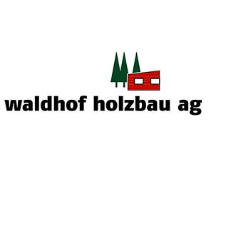 Waldhof Holzbau AG, Langrickenbach - Logo