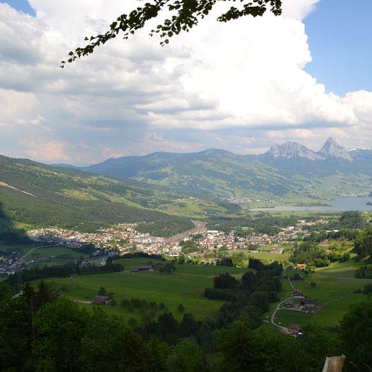 Arth Goldau Panorama