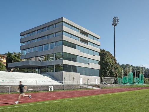 Talents School an der Pilatus Akademie auf der Luzerner Allmend