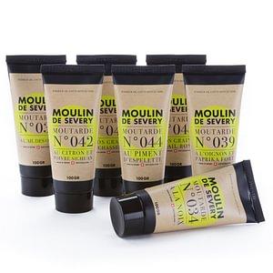 Les nouveaux tubes de moutarde