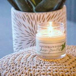 Bougies artisanales ambiance olfactive