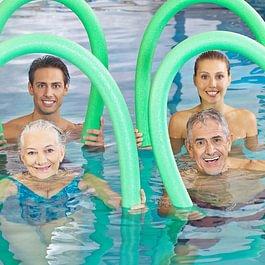 Aquafitness für Jung und Junggebliebene