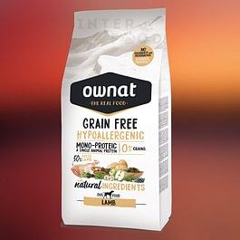 OWNAT Grain Free Hypoallergenic Lamb alimento speciale per cani