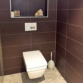 WC encastré