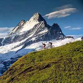 Backdoor Bike Team in der Jungfrauregion in Action