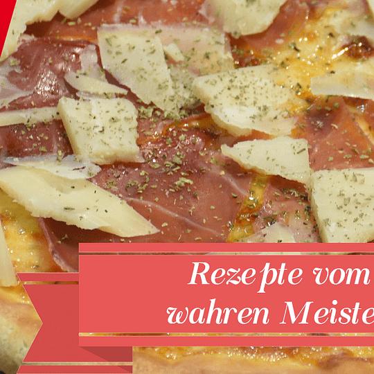 Maestro Pizza Kurier - Rezepte vom wahren Meister!