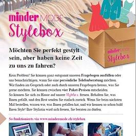 Stylebox! Bestellen Sie Ihre Mode direkt nach Hause.