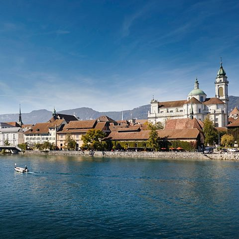 Solothurn, Aare Silhouette