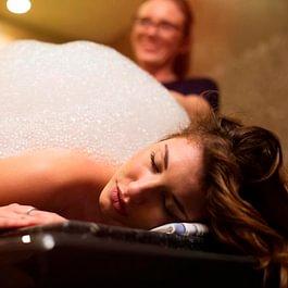 Massaggio schiuma-peeling