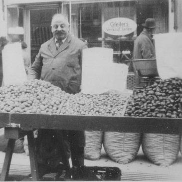 Um 1950 auf dem Bärenplatz (Camillo Bulloni, 1. Generation)