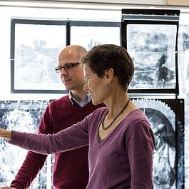 Kunsttechnologische Untersuchungen bei SIK-ISEA im Rahmen des Forschungsprojektes Ferdinand Hodler