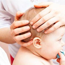 Kinderbehandlung in der praxis für craniosacrale therapie corinne wohler
