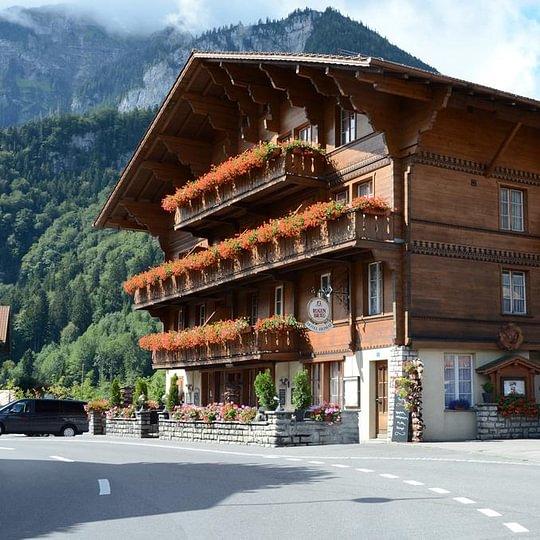 Chalet Hotel Heimat Wilderswil